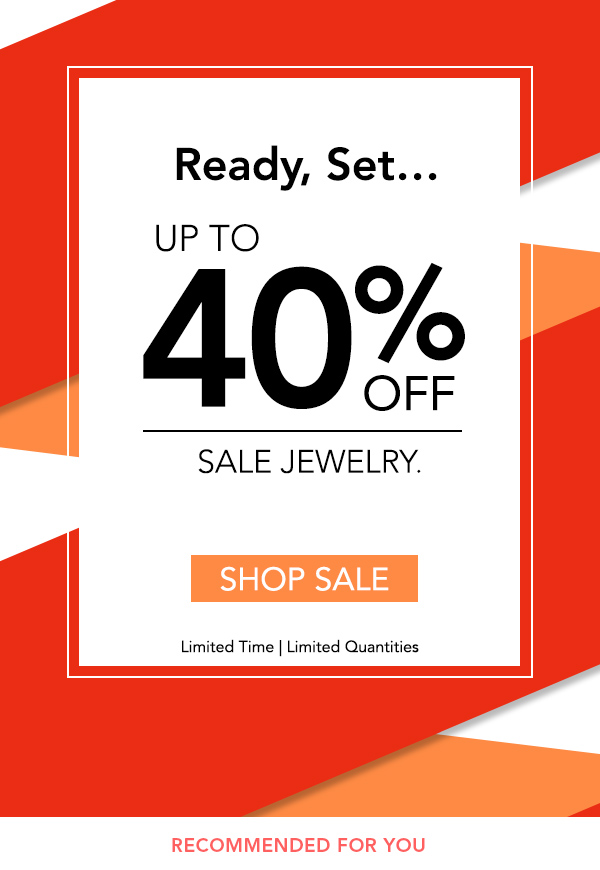 Save up to 40% off sale jewelry at Blue Nile.