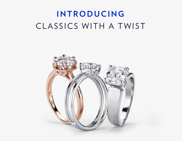 Introducing Classics With A Twist. Shop The Collection.