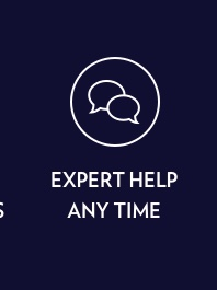 Expert Help At Any Time. Learn More.