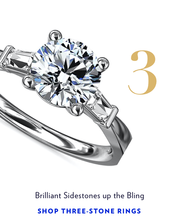 Shop Three-Stone RIngs