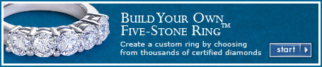 Build Your Own Five-Stone Ring®