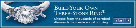Build Your Own Three-Stone Ring®