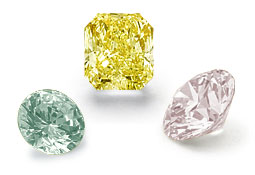Diamants couleur fantaisie