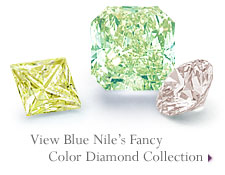 View Blue Nile's Fancy Color Diamond Collection
