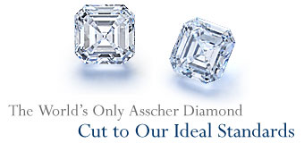 The World's Only Asscher Diamond Cut to Our Ideal Standards