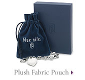 Plush Fabric Pouch
