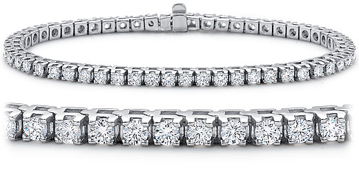 DB06400100 zoom - Diamond Bracelets