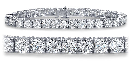 DB06500400 zoom - Diamond Bracelets