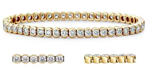 DB15300400 zoom - Diamond Bracelets