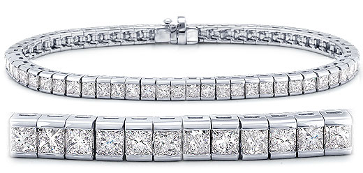 DB15401500 zoom - Diamond Bracelets