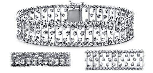 DB55400200 zoom - Diamond Bracelets